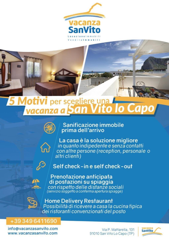 5 Motivi per scegliere una vacanza a San Vito Lo Capo